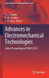 Omslag - Advances in Electromechanical Technologies