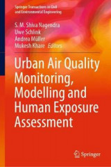 Omslag - Urban Air Quality Monitoring, Modelling and Human Exposure Assessment