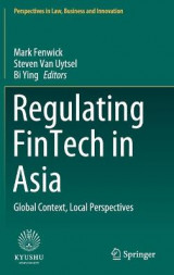 Omslag - Regulating FinTech in Asia