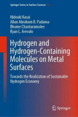 Omslag - Hydrogen and Hydrogen-Containing Molecules on Metal Surfaces