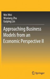Omslag - Approaching Business Models from an Economic Perspective II