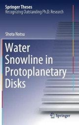 Omslag - Water Snowline in Protoplanetary Disks