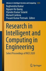 Omslag - Research in Intelligent and Computing in Engineering