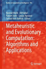 Omslag - Metaheuristic and Evolutionary Computation: Algorithms and Applications