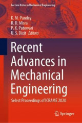 Omslag - Recent Advances in Mechanical Engineering