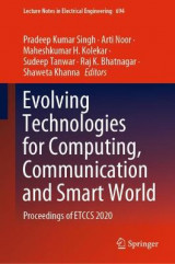 Omslag - Evolving Technologies for Computing, Communication and Smart World