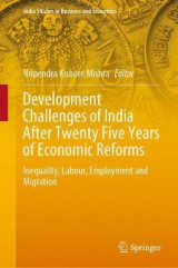 Omslag - Development Challenges of India After Twenty Five Years of Economic Reforms