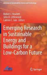 Omslag - Emerging Research in Sustainable Energy and Buildings for a Low-Carbon Future
