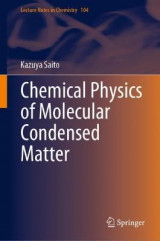 Omslag - Chemical Physics of Molecular Condensed Matter