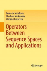 Omslag - Operators Between Sequence Spaces and Applications