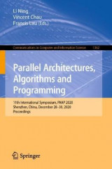 Omslag - Parallel Architectures, Algorithms and Programming