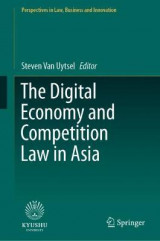 Omslag - The Digital Economy and Competition Law in Asia
