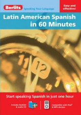Omslag - Berlitz Language: Latin American Spanish in 60 Minutes