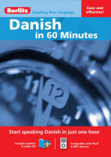 Omslag - Berlitz Language: Danish in 60 Minutes