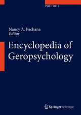 Omslag - Encyclopedia of Geropsychology 2017