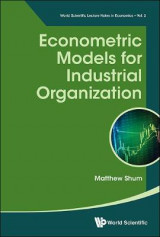 Omslag - Econometric Models For Industrial Organization