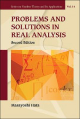 Omslag - Problems And Solutions In Real Analysis