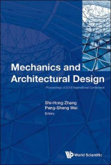 Omslag - Mechanics and Architectural Design - Proceedings of 2016 International Conference
