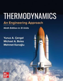 THERMODYNAMICS: AN ENGINEERING APPROACH, SI av Yunus Cengel, Michael Boles og Mehmet Kanoglu (Heftet)