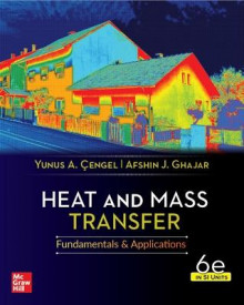 Heat And Mass Transfer, 6th Edition, Si Units av Yunus Cengel og Afshin Ghajar (Heftet)