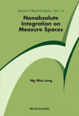 Omslag - Nonabsolute Integration On Measure Spaces