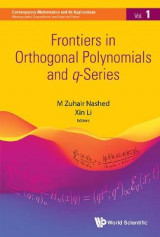 Omslag - Frontiers In Orthogonal Polynomials And Q-series