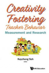 Omslag - Creativity Fostering Teacher Behavior: Measurement And Research
