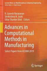 Omslag - Advances in Computational Methods in Manufacturing