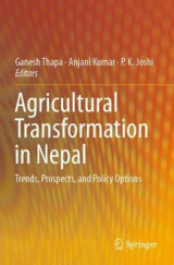 Omslag - Agricultural Transformation in Nepal