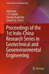 Omslag - Proceedings of the 1st Indo-China Research Series in Geotechnical and Geoenvironmental Engineering