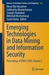 Omslag - Emerging Technologies in Data Mining and Information Security