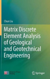 Omslag - Matrix Discrete Element Analysis of Geological and Geotechnical Engineering