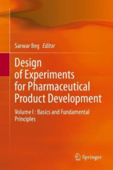 Omslag - Design of Experiments for Pharmaceutical Product Development
