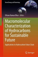 Omslag - Macromolecular Characterization of Hydrocarbons for Sustainable Future