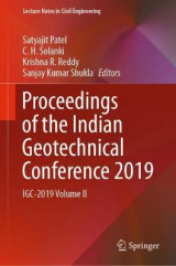 Omslag - Proceedings of the Indian Geotechnical Conference 2019