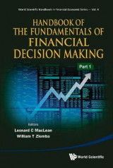 Omslag - Handbook Of The Fundamentals Of Financial Decision Making (In 2 Parts)