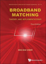 Omslag - Broadband Matching: Theory And Implementations (Third Edition)