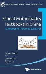 Omslag - School Mathematics Textbooks In China: Comparative Studies And Beyond