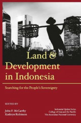 Omslag - Land and Development in Indonesia