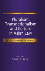 Omslag - Pluralism, Transnationalism and Culture in Asian Law