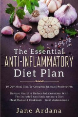 Omslag - Anti Inflammatory Diet For Beginners - The Essential Anti-Inflammatory Diet Plan