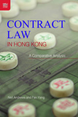 Omslag - Contract Law in Hong Kong