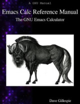 Omslag - Emacs Calc Reference Manual