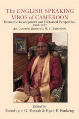 Omslag - The English Speaking Mbos of Cameroon. Economic Development and Historical Perspective